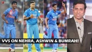 VVS Laxman: India's bowling fulcrum — Ravichandran Ashwin, Ashish Nehra, Jasprit Bumrah