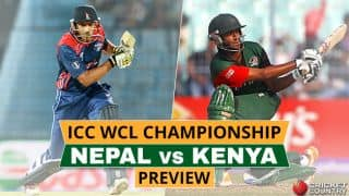 ICC WCL Championship, Nepal vs Kenya, Preview: Hosts look to continue their home domination