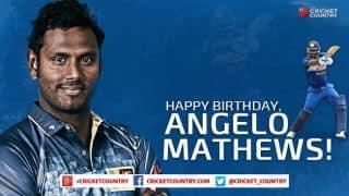 Happy Birthday, Angelo Mathews!