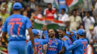 Bhuvneshwar Kumar, Shikhar Dhawan star in 1st T20I; India beat South Africa by 28 runs