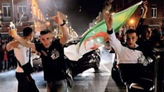 FIFA World Cup 2014: Algeria celebrate historic World Cup progress