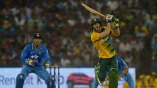 India vs South Africa 2015: Faf Du Plessis credits seamers for T20I series win over hosts