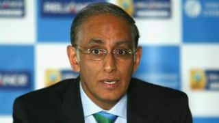 Haroon Lorgat congratulates South African cricketers for being named in ICC Test Team of the Year 2015