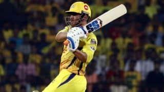 धोनी का शानदार अर्धशतक, चेन्नई ने राजस्थान को दिया 176 रन का लक्ष्य