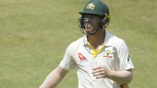 David Warner earns 3 demerit points, fined heavily after Quinton de Kock altercation