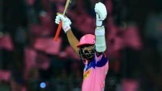 अजिंक्य रहाणे ने जमाया शतक, राजस्थान के लिए खेली सबसे बड़ी पारी