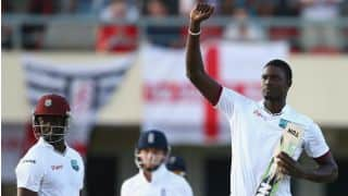 Jason Holder century helps West Indies save 1st Test against England at Antigua