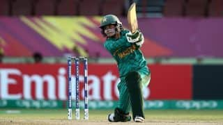Women's World T20: Javeria Khan's record fifty keeps Pakistan Women in the mix