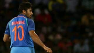 Shardul Thakur gives up No. 10 jersey of Sachin Tendulkar fame
