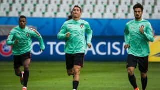 POR 1-1 ICE, FT | Live football score, Portugal vs Iceland, Euro 2016, Group F, Match 12 at Saint-Étienne'