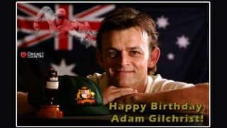 Adam Gilchrist turns 43