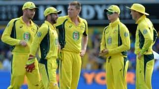 AUS win by 3 wickets  Lead series 1-0    Sri Lanka vs Australia 1st ODI Live Updates