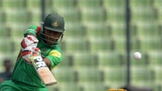 Imrul Kayes departs for 59 against Pakistan