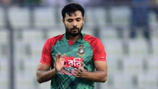 Mashrafe Mortaza hopeful of Test comeback for Bangladesh