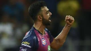 IPL 2017: Rising Pune Supergiant beat Sunrisers Hyderabad by 12 runs