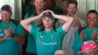 Video: How Marsh brothers' hug almost resulted in a wicket leaving Smith anxious