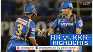 Rajasthan Royals vs Kolkata Knight Riders, IPL 2015 Match 54: Shane Watson's century, Andre Russell's powerful sixes and other highlights