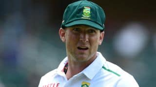 Hardus Viljoen and other bowlers with wickets off their first ball in Test cricket