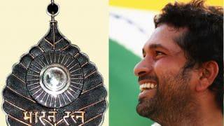 Sachin Tendulkar is applicable for 'Bharatratna' award