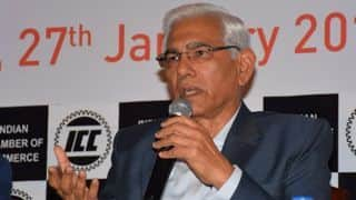 Would be shooting ourselves in the foot by boycotting Pakistan World Cup tie: Vinod Rai