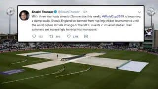 'Should England be banned from hosting cricket tournaments?'- Shashi Tharoor on Twitter
