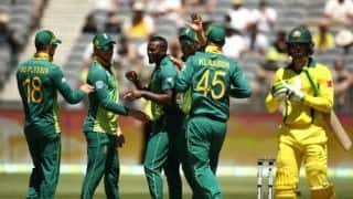 1st ODI: Australia crumble to 152-all out in Perth