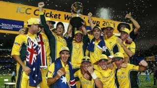 World Cup Countdown: A history of the 2003 Cricket World Cup