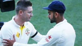 Clarke expresses surprise over Kohli's decision to skip Afghanistan Test