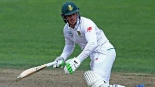 Rain halts Quinton de Kock's juggernaut enforcing early tea vs New Zealand on Day 2 of 3rd Test