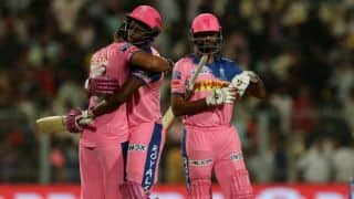 IPL 2019: Rajasthan register win, Kolkata lose back to back 6th match