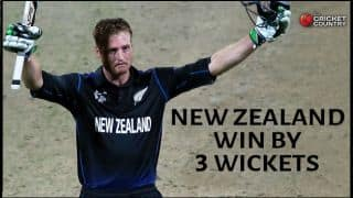 NZ win thriller vs BAN by 3 wickets in ICC World Cup 2015