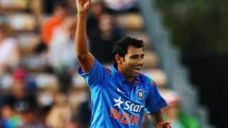 Mohammed Shami registers 50th ODI scalp
