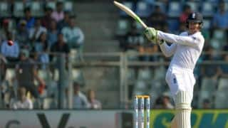 Lunch report, Day 1: Debutant Jennings shines; puts England ahead