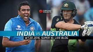 Live Cricket Score India vs Australia, ICC T20 World Cup 2016 IND vs AUS, 31st T20 Match at Mohali | India win by 6 wickets | Reach semi-final