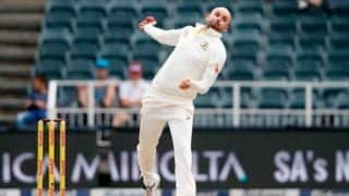 Nathan Lyon happy with his bowling; Says the Ball is Coming Out of his Hand nicely