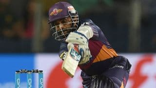 Ajinkya Rahane finishes off with six in MS Dhoni's style vs Kings XI punjab; Watch video
