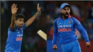 ICC ODI Ranking : बल्लेबाजों में विराट कोहली तो गेंदबाजों में जसप्रीत बुमराह टॉप पर बरकरार