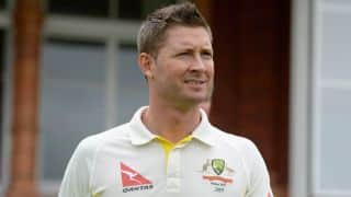 Micheal Clarke drives auto rickshaw in Bangalore