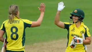Nicole Bolton, Ellyse Perry, Beth Mooney guide Australia Women to 287/9 against India