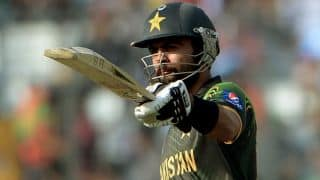 Ahmed Shehzad's ton takes Pakistan to 190/5 in ICC World T20 2014 contest against Bangladesh