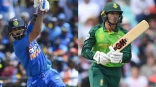 India vs South Africa 2019, IND vs SA, 2nd T20I, Mohali, LIVE streaming: Quinton de Kock leads South Africa's good start