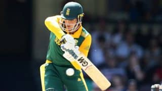 Quinton de Kock century drives South Africa A to 244 against India A in Chennai