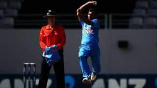 Asia Cup 2014 India vs Bangladesh: Bhuvneshwar Kumar, Mohammed Shami ensure good start; 36/1 in 10 overs