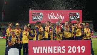 T20 BLAST: एसेक्स की खिताबी जीत में ऑलराउंडर साइमन हार्मर चमके