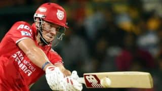 David Miller wicket puts Rajasthan Royals in drivers seat against Kings XI Punjab in IPL 2015