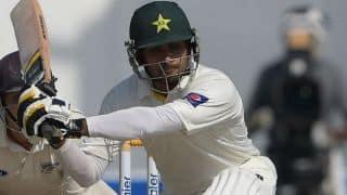 Pakistan vs New Zealand 2014, 3rd Test at Sharjah: Mohammad Hafeez completes half-century