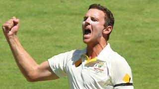 Josh Hazlewood: Not thinking about The Ashes at all