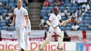 Devendra Bishoo, Shannon Gabriel put on 52 for 10th wicket for West Indies vs England, Day 2 at Grenada