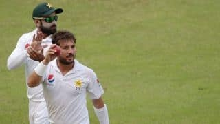 2nd Test: Yasir Shah claims second best figures by a Pakistan spinner in Tests