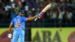The story behind Rohit Sharma getting his jersey number 45
